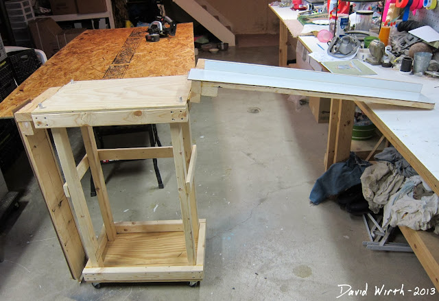 miter saw arms, test, how to attach