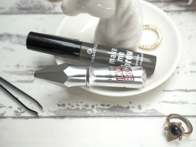 close up benefit gimme brow essence make me brow