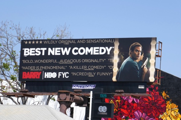 Barry season 1 Emmy consideration billboard