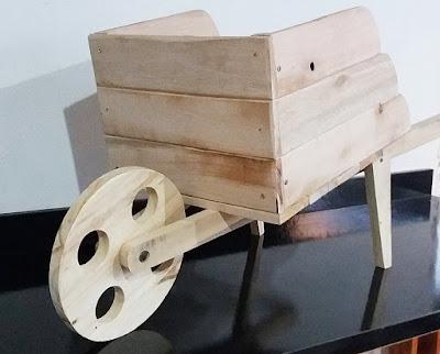 cachepo carrinho de mão