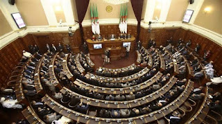 Algeria's parliament in meeting to decide on New acting president.