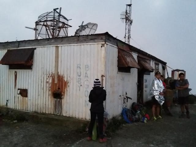 Bunker house in Mt. Amuyao Summit