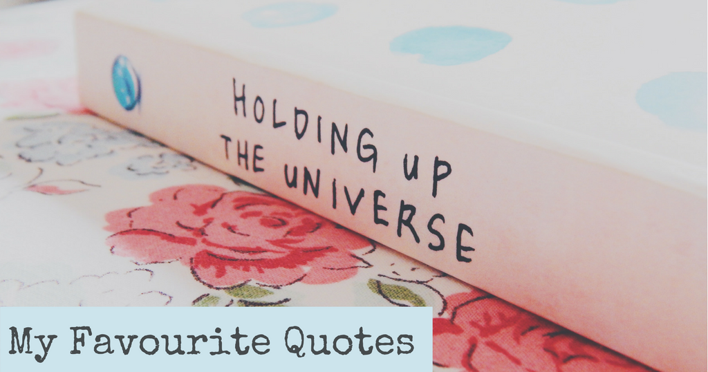 Top 5 Quotes From Holding Up The Universe Georgias Life