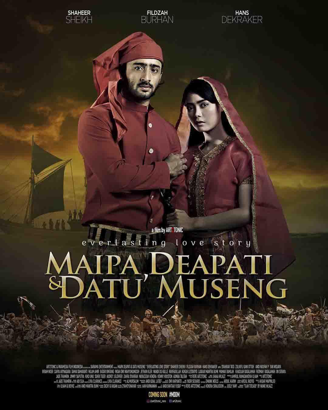 Hasil gambar untuk Film Maipa Deapati & Datu Museng (2018)
