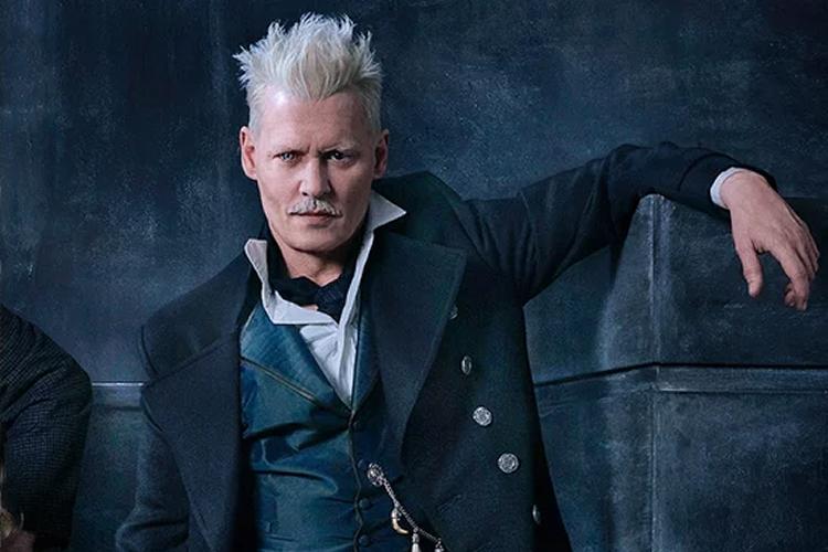 Johnny Depp as Gellert Grindelwald in Fantastic Beasts films