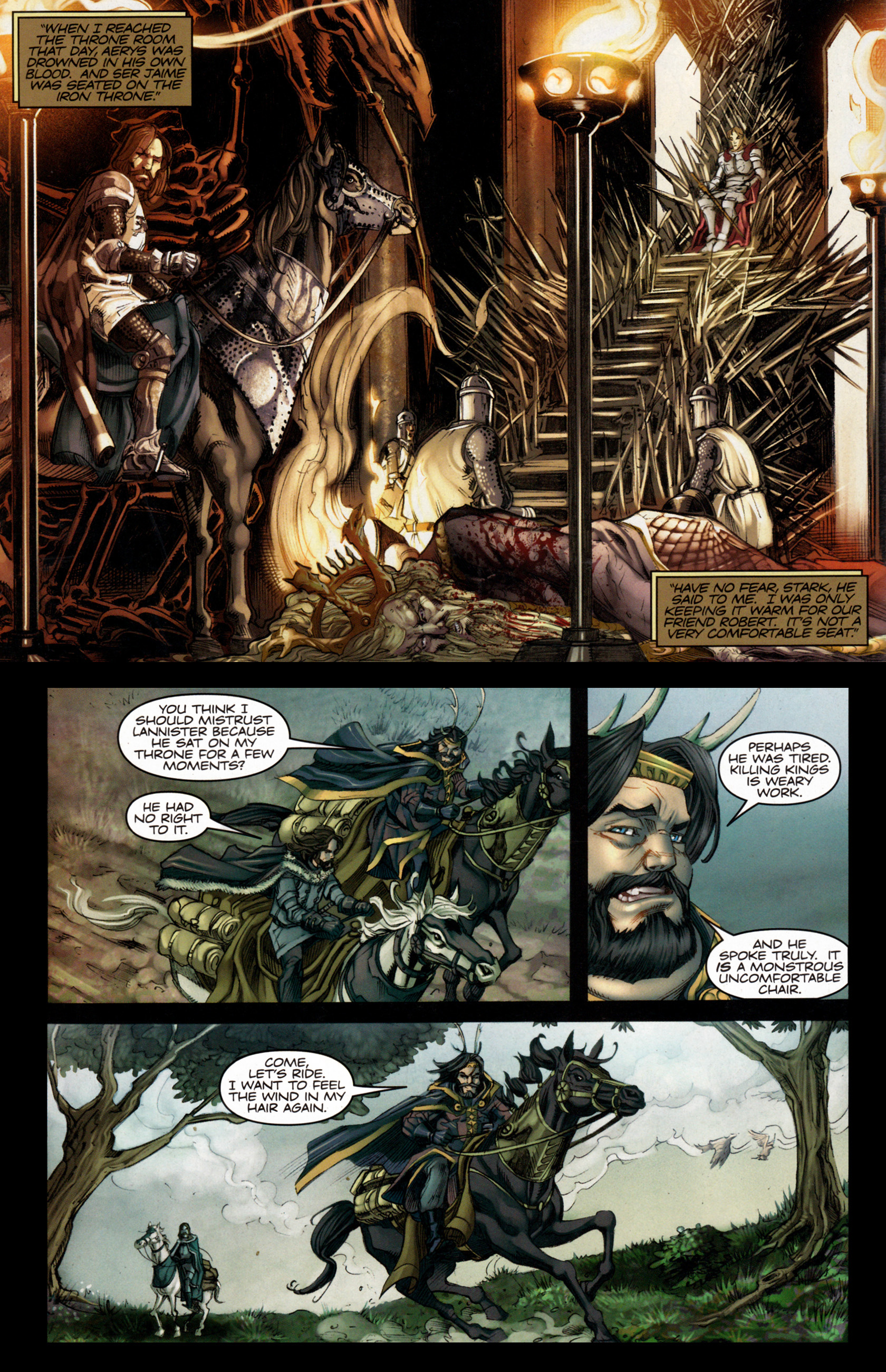 Read online A Game Of Thrones comic -  Issue #4 - 14