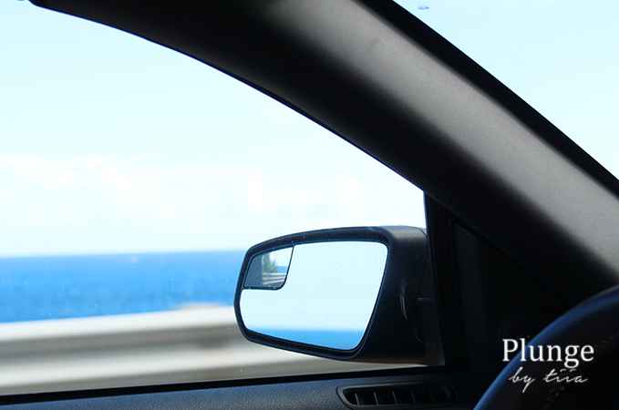 Driving around in Oahu