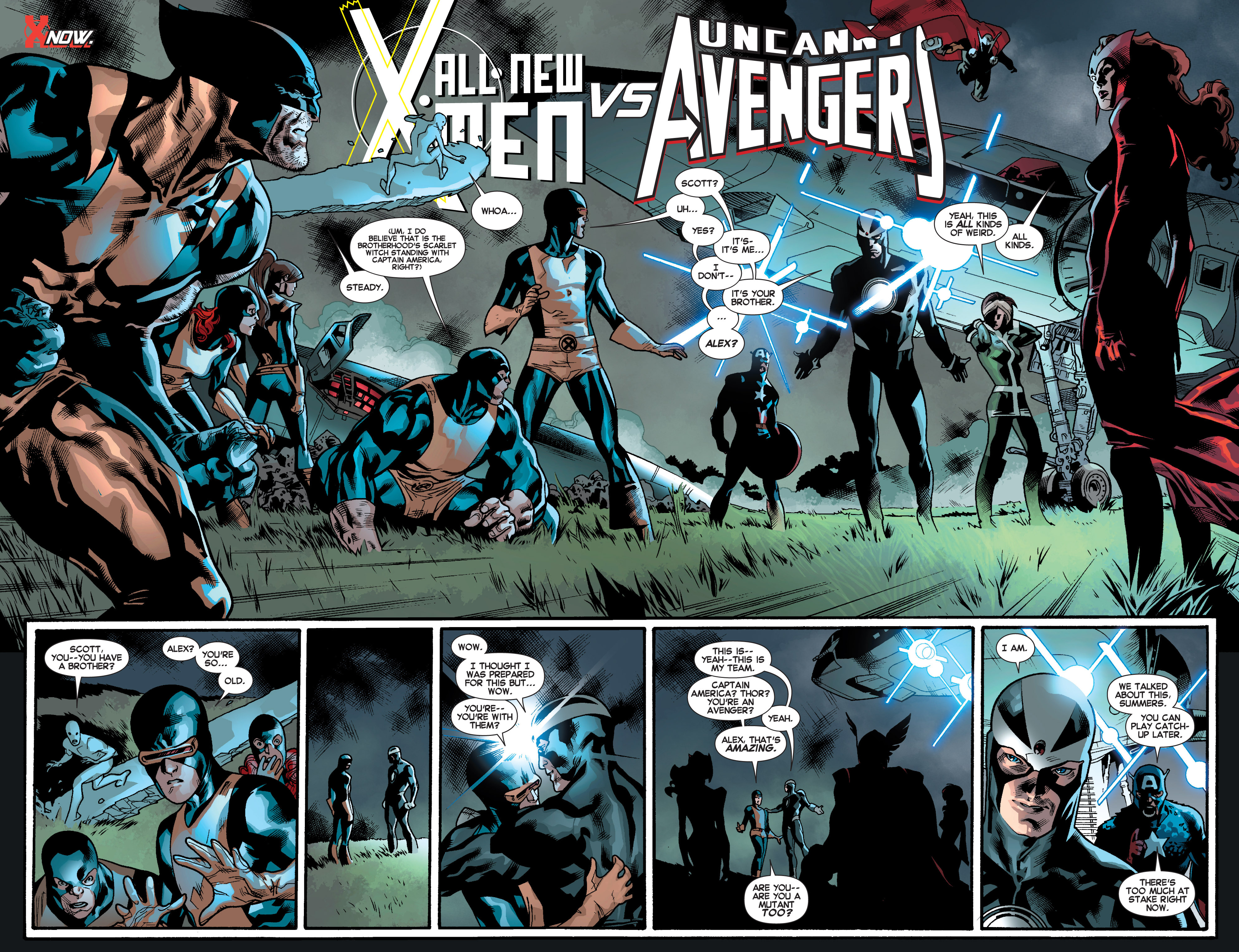 Read online All-New X-Men (2013) comic -  Issue # _Special - Out Of Their Depth - 29