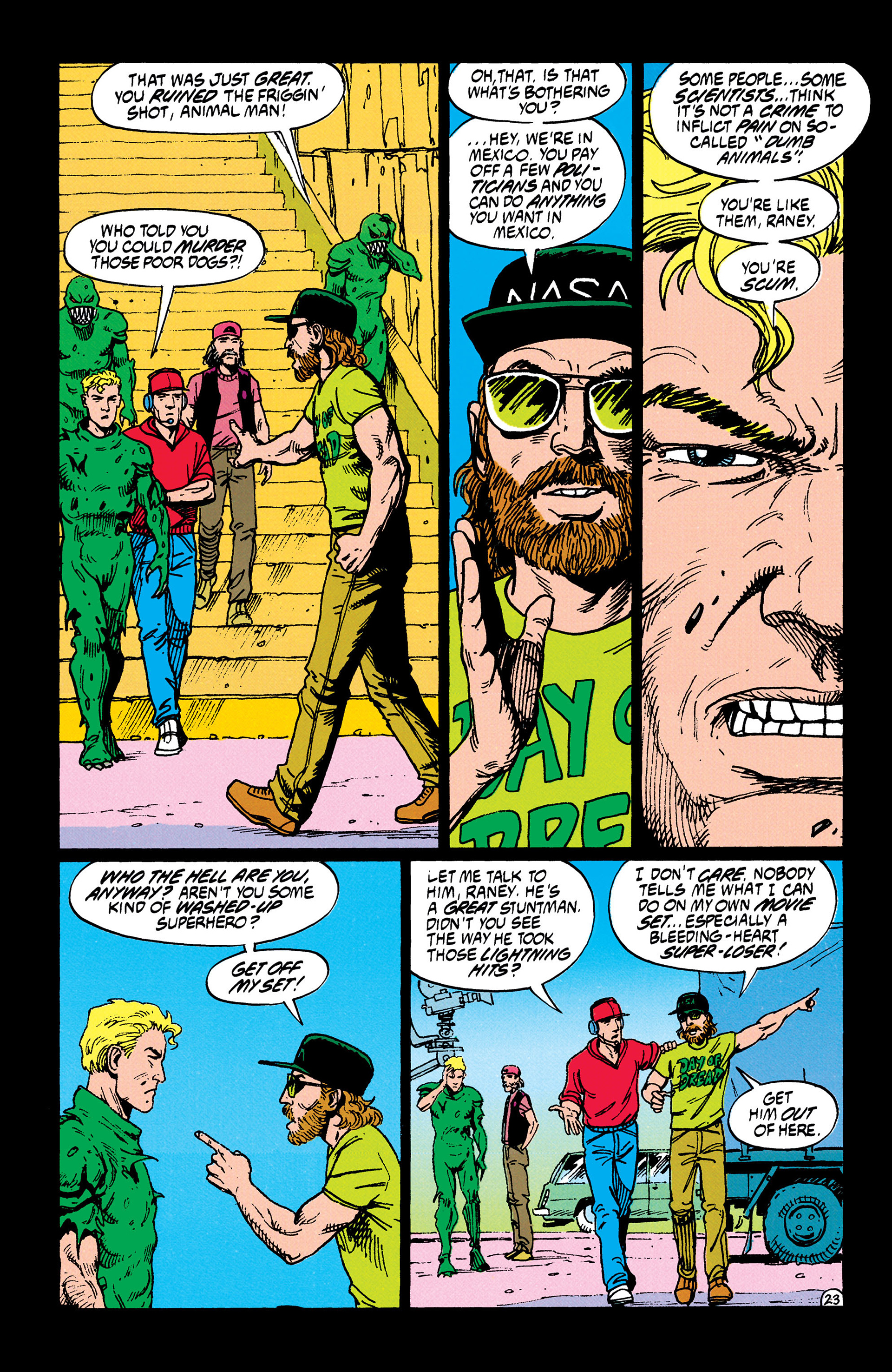 Read online Animal Man (1988) comic -  Issue #35 - 24