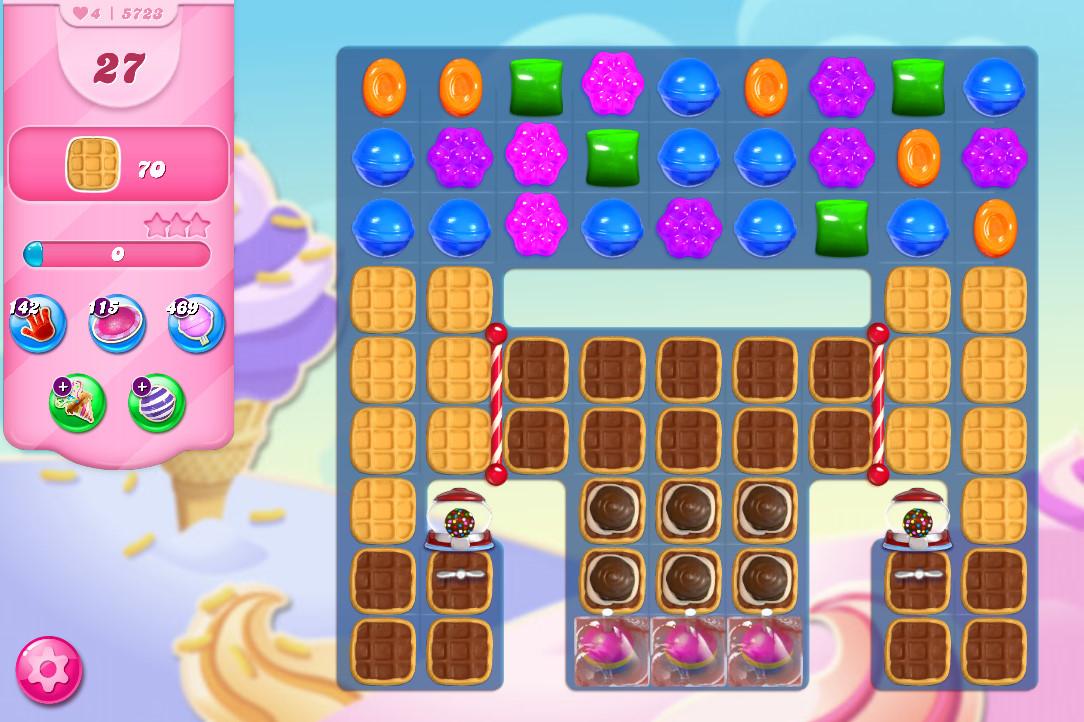 Candy Crush Saga level 5723
