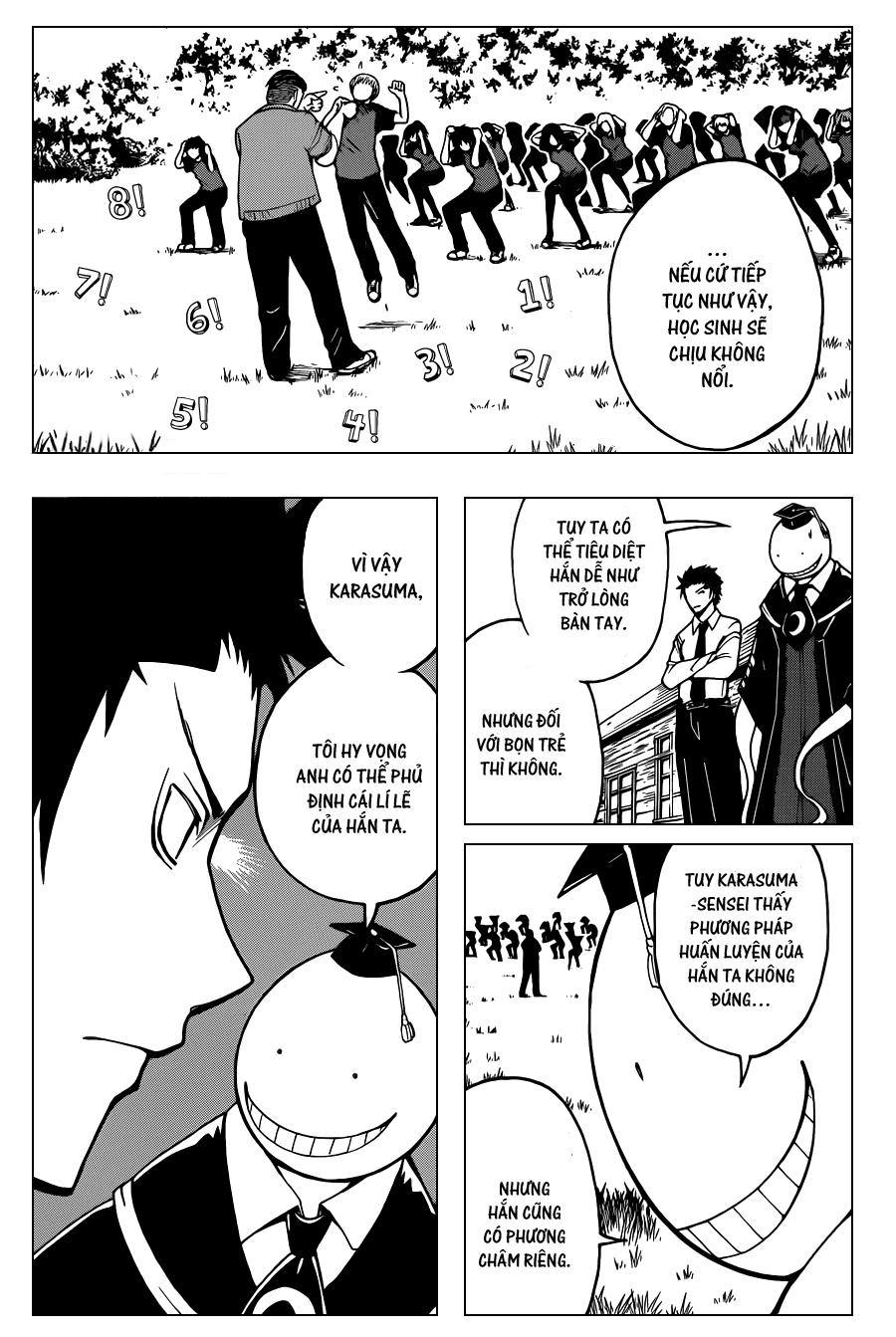 Ansatsu Kyoushitsu chap 40 trang 5