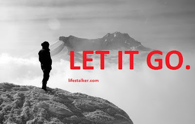 letting go phrases
