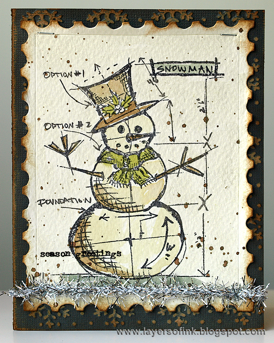 Layers of ink merry christmas blueprints i malvernweather Gallery
