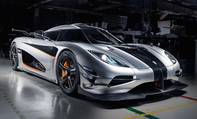 世界最速の車 「ケーニグゼグ・アゲーラOne:1」