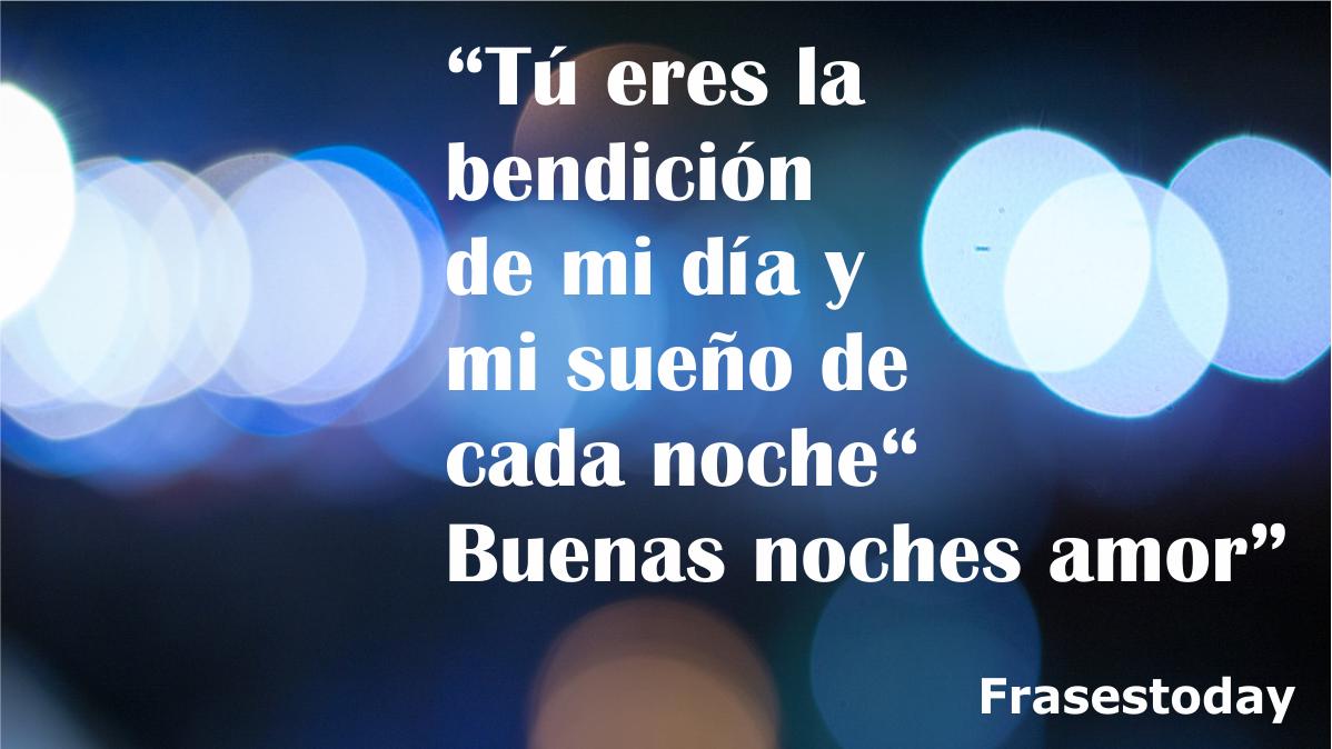 Frases Bonita Para Mi Novia De Buenas Noches