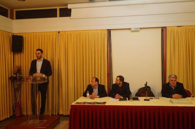Χριστοδουλάκης από την πίτα του ΚΙΝΑΛ Θεσπρωτίας: Η αντίστροφη μέτρηση για τις εκλογές ξεκίνησε