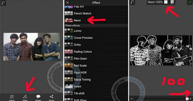 download Tutorial Membuat Efek Kapur dengan PicSay Pro Android