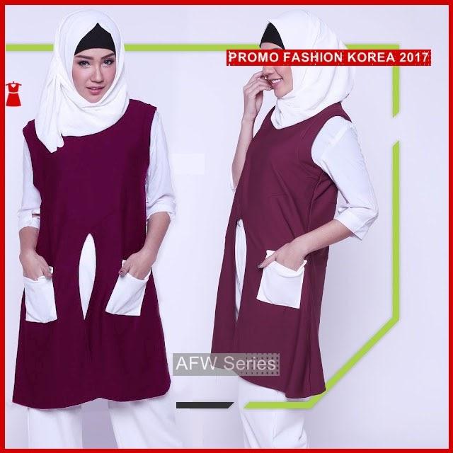 BAMFGW144 Inverted Tunic Hijab Wanita PROMO BMG