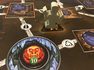 Clank! The Mummy's Curse Expansion Supreme Monkey Idol, Mummy monster, and Curse