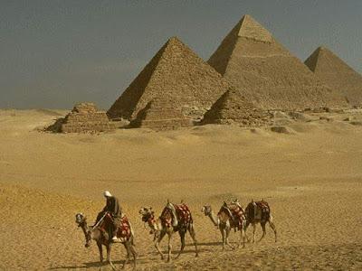 [Lengkap] Terungkapnya Misteri Pembangunan Piramida Mesir