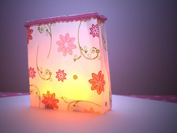 Square Envelope Luminary