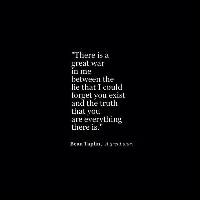 there is a great war in me - brokenheart quotes