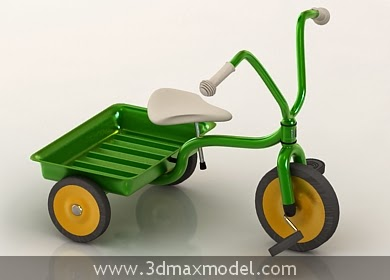 tricycle 3d model free