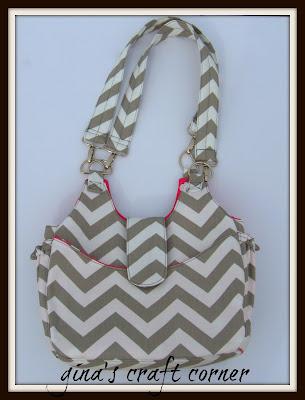 Chevron Bag by Gina's Craft Corner