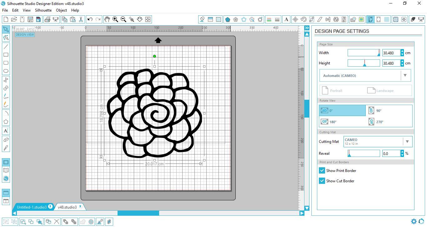 Creating Rhinestone Templates in Silhouette Studio | Design Bundles
