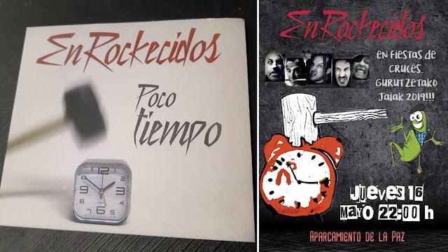Disco y cartel de Enrockecidos