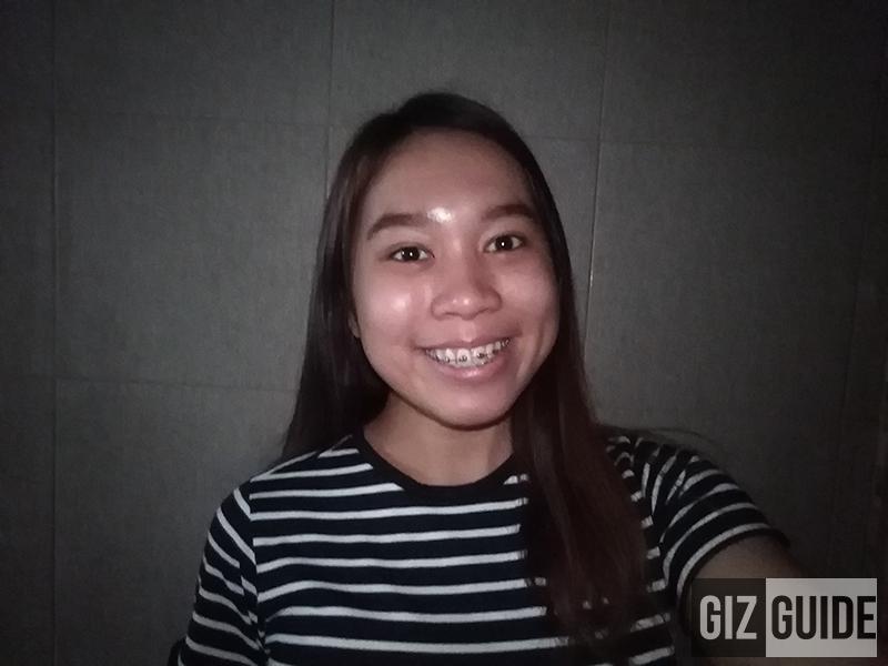 Huawei Y6 2018 low-lit selfie