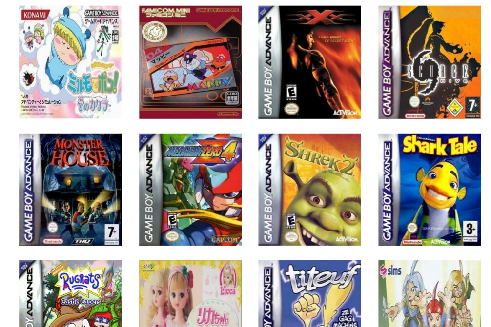 Gameboy Advance Roms For Android Emulator | Games World