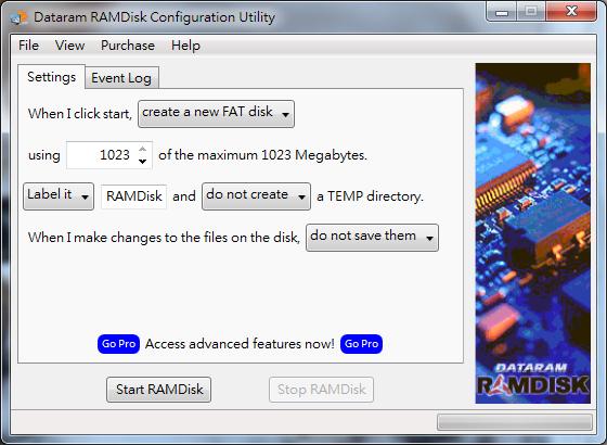 Image%2B003%2B%25282%2529 - RAMDisk - SSD 的十倍快!讓多餘的記憶體來幫你加速電腦,優化效能!