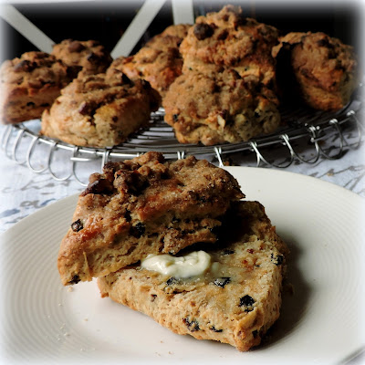 Irish Coffee Cake Scones