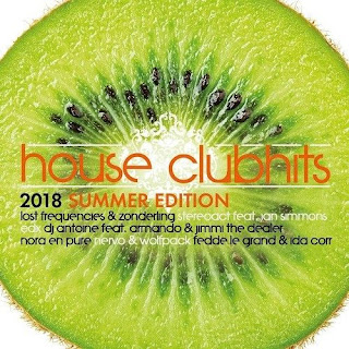 Cd House Clubhits Summer Edition 2018