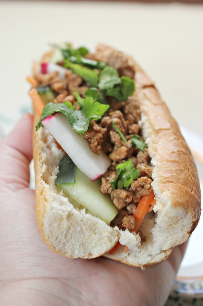 Incredible Indonesian-Style Sweet & Sour Pork Sandwich Recipe, recipe using kecap manis,