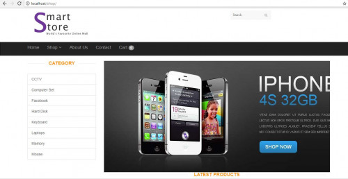 Smart Store E-commerce (PHP)