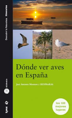 Libro: Dónde ver aves en España