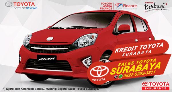 Promo DP Ringan, Paket Kredit Toyota Agya Surabaya