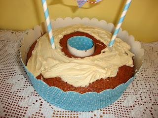 Bundt cake de calabaza y amapolas