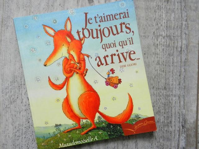 Sélection de livres sur les mamans (Et dans leur bibliothèque il y a... # 1) : Je t'aimerai toujours quoi qu'il arrive