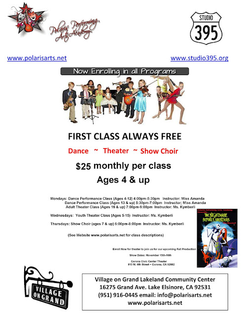 ACTING, PERFORMANCE AND DANCE Classes