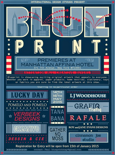 Print pattern new trade show blueprint blueprint is a brand new print show that will take place in new york from the 14th 16th may the show is the brainchild of the cinnamon joe studio and is malvernweather Gallery