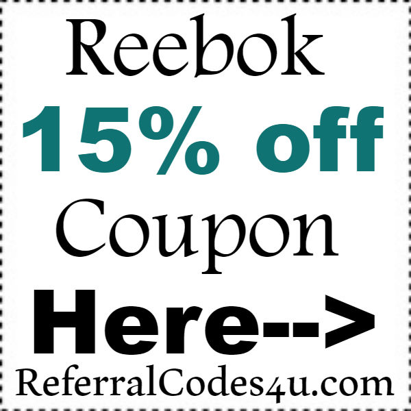 Reebok Online Coupon Code 2016-2021, Reebok.com Promo Codes October, November, December