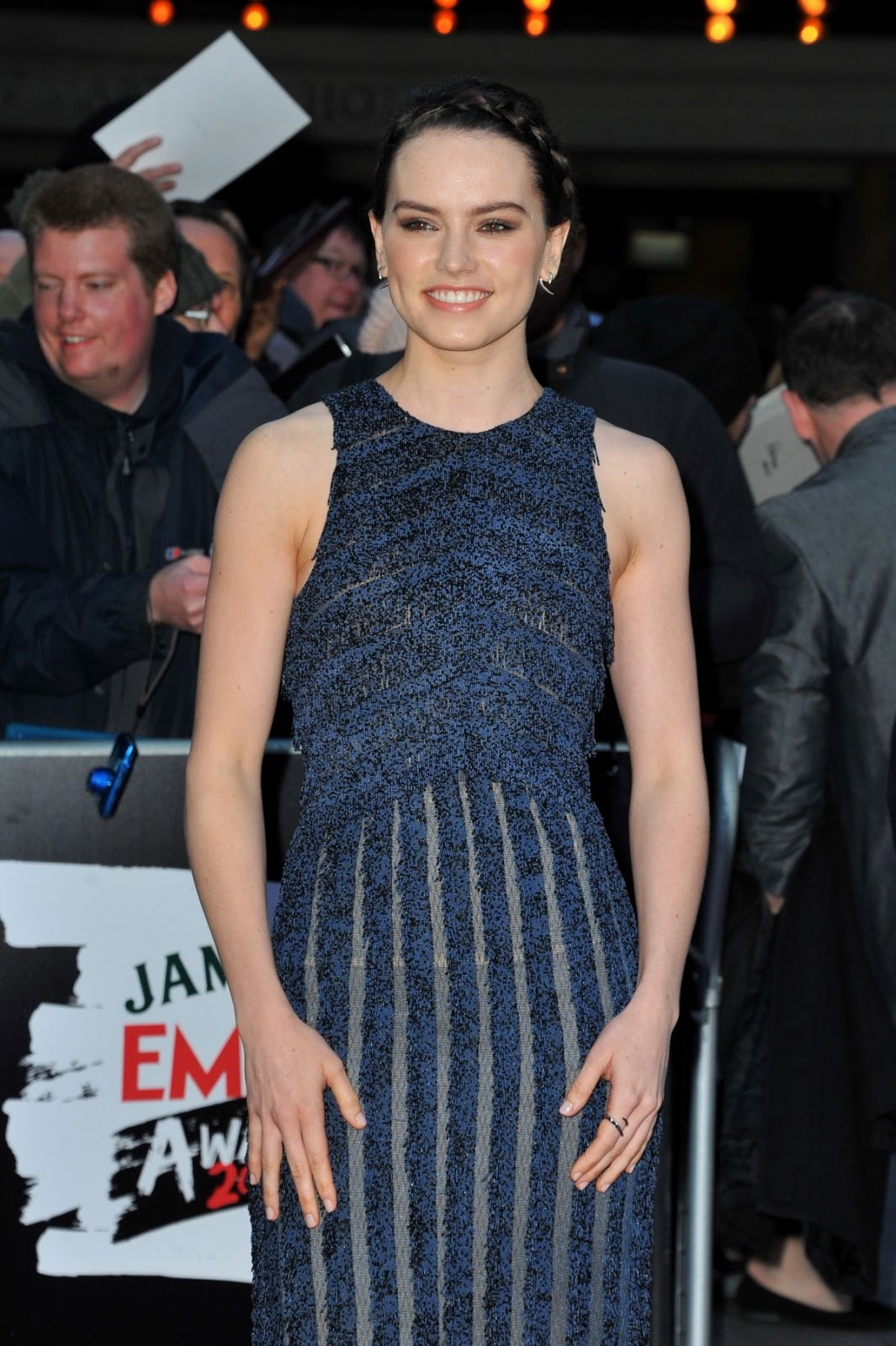 Star Wars - The Force Awakens actress Daisy Ridley at Empire Awards 2016
