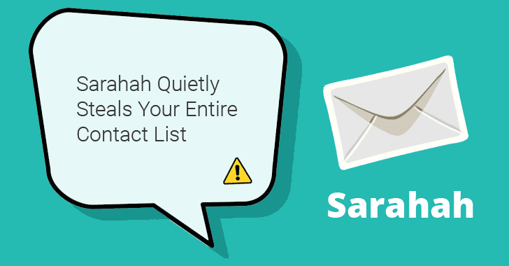 Beware! Viral Sarahah App Secretly Steals Your Entire Contact List