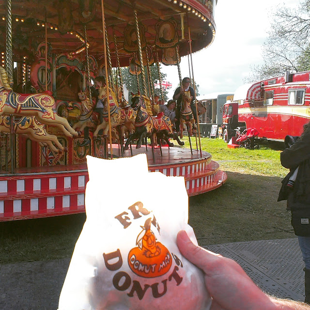 Donuts at the fairground