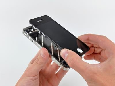 Thay mat kinh iPhone 4 nhanh nhat