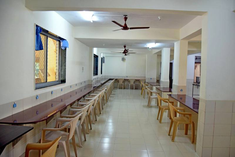 Dining hall - Global Vipassana Gorai Pagoda, Mumbai