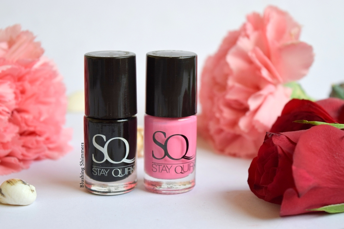 Stay Quirky nail paint serious black